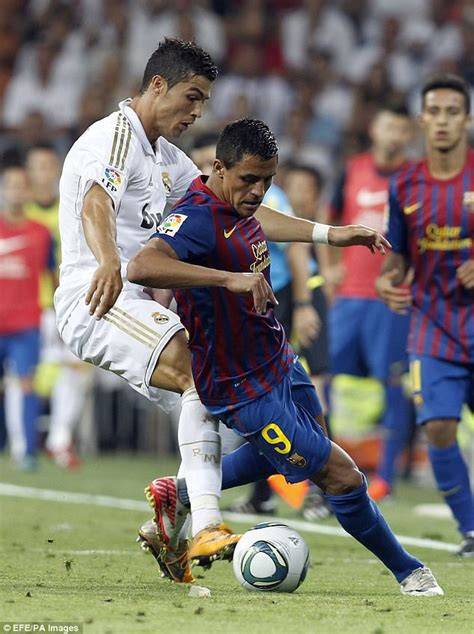 Cristiano Ronaldo V Alexis Sanchez How The Stars Compare