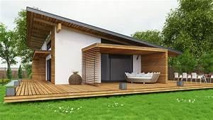 Maison Préfabriquée En Bois : maison prefabriquee bois ~ Premium-room.com Idées de Décoration