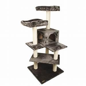 Arbre A Chat Moderne : arbre chat avec griffoir design ou g ant ~ Melissatoandfro.com Idées de Décoration