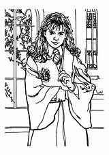 Potter Harry Coloring Hermione Pages Granger Sheet Momjunction Printable Sheets Chibi Awesome Hogwarts Castle Forkids sketch template