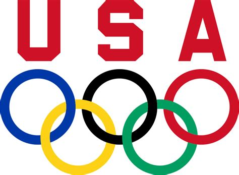 Olympics Logo File United States Olympic Committee Logo 2 Svg