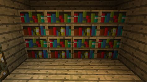 Bookshelf Minecraft Recipe