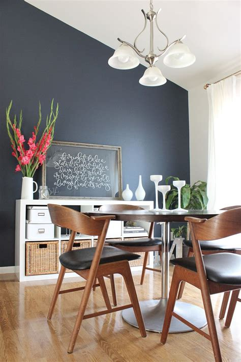 dining room makeover accent walls  living room dining