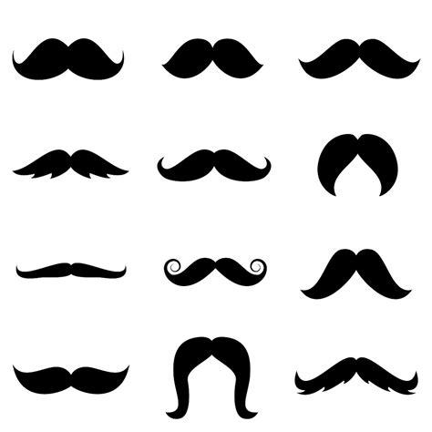 stenciled drop cloth mustache graphics cliparts co