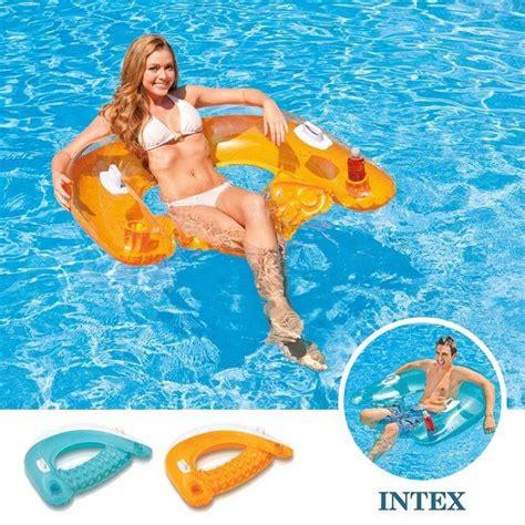 intex sit n float swimming pool chair