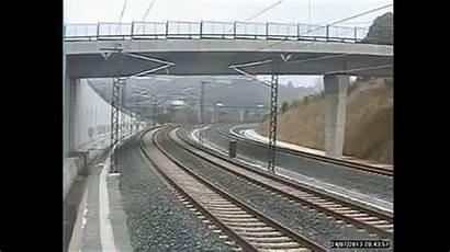 Train Crash Spain Santiago Animated