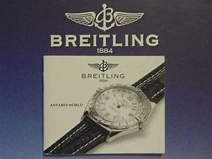 Breitling Pilot Divers Watch Instruction Manual Book Guide