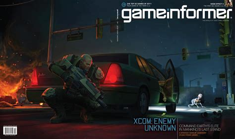 game informer february  cover revealed xcom enemy