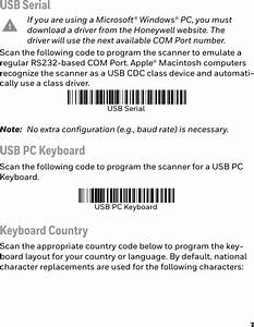 Honeywell 1932a Barcode Scanner User Manual Xenon 1900