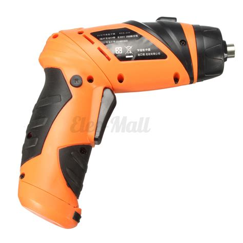 screwdriver electric drill battery operated cordless
