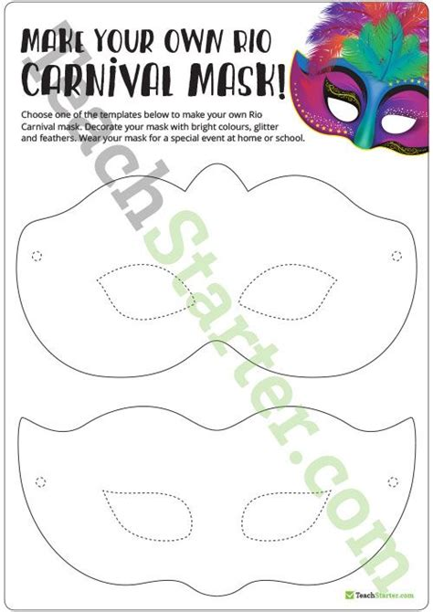 carnival masks template kids 25 best ideas about carnival crafts on pinterest