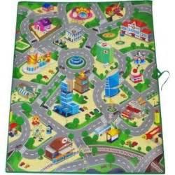 tapis route pour petites voitures grand tapis 120 chambre pour voiture jeu jouet garcon chambre enfant achat vente
