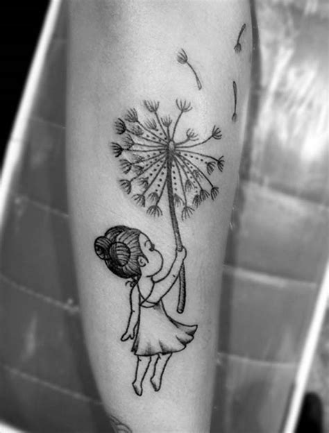 150 Meaningful Dandelion Tattoos Ideas (June 2020)