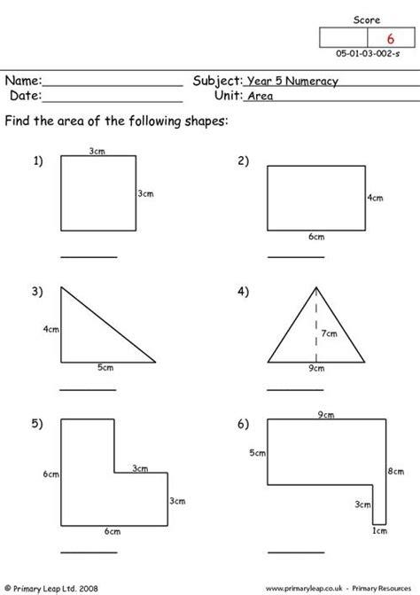 numeracy perimeter worksheet primaryleapcouk