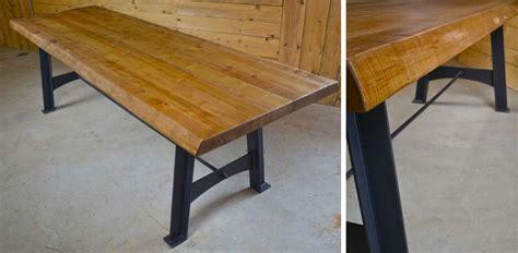 plateau de table sur mesure table avec plateau en bois massif sur mesure