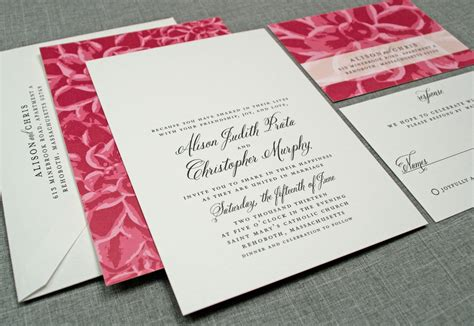 do it yourself wedding invitations ideas