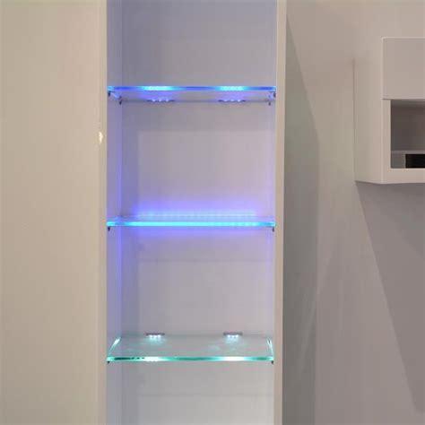 led cabinet lights kit for glass edge shelf back