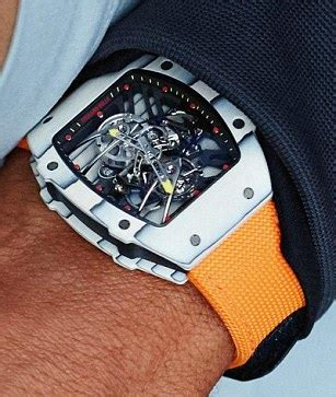 Rafael Nadal is wearing an $850,000 watch at the French Open   For The Win