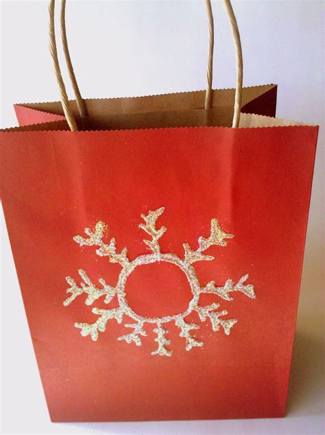 be brave keep going decorate a plain gift bag with a