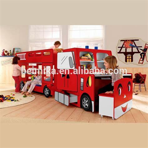 Fire Engine Kids Children Bunk Car Bed  Buy Kids Cars