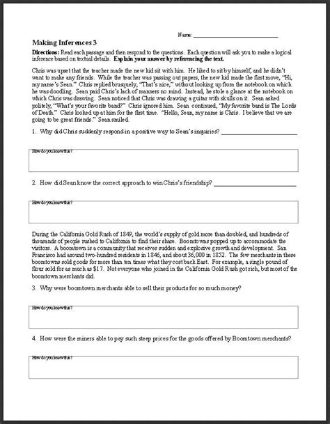 ela worksheets  activities  middle  high