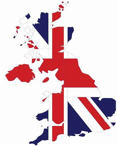 Kingdom United Flag Map British Market International