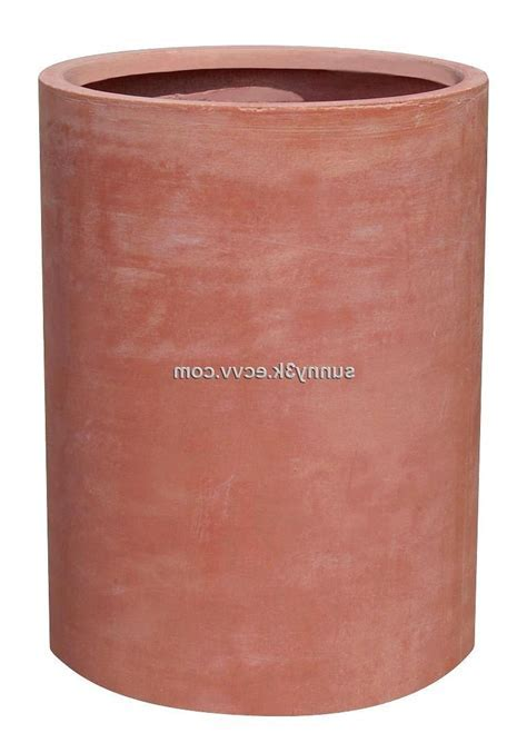 Photos of cylinder flower pots