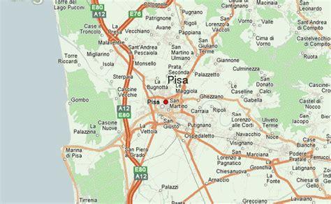 Carte Italie Ville Pise by Guide Urbain De Pise