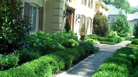 formal front yard landscaping ideas landscape design formal garden on philadelphia s main line main line landscape design youtube