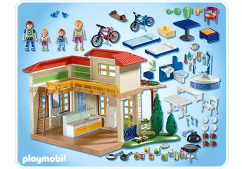 maison de cagne playmobil 123 summer house 4857 a playmobil