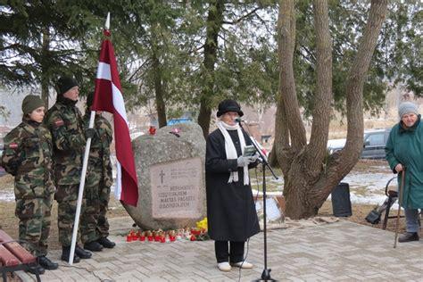 Komunistiskā genocīda upuru piemiņas dienas pasākums Maltā - Maltas pagasts
