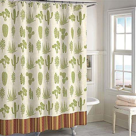 Cactus Shower Curtain - cactus shower curtain bed bath beyond