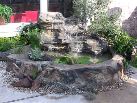 DIY Pond Waterfall