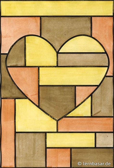 Bild Geometrische Formen by Geometrische Formen Mit Nur Drei Farben Kunst Malen