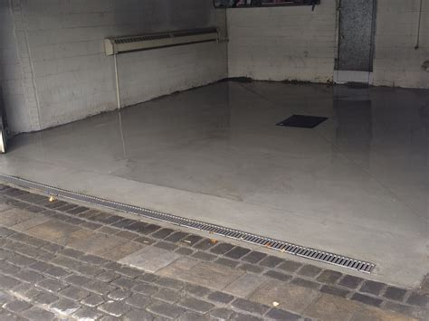 garage drainage solutions driveway drain replacement specialists in montreal