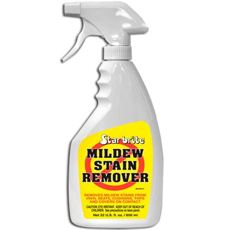 Boat Upholstery Mildew Remover by Starbrite Mildew Stain Remover 650ml