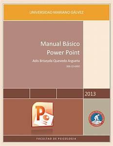 Manual Basico De Power Point 2013 By Adis