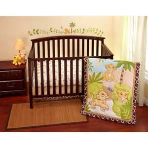 disney lion king simba 3 piece crib bedding set