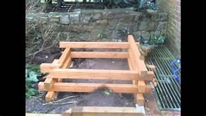 Komposter Holz Selber Bauen : holz komposter youtube ~ Articles-book.com Haus und Dekorationen