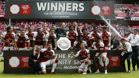 Arsenal Community Shield Record