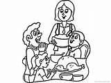 Coloring Dinner Thanksgiving Pages Table Chicago Disney Daughter Father Turkey Skyline Printable Cubs Drawing Getcolorings Getdrawings Getcoloringpages Mouse Mickey Minnie sketch template