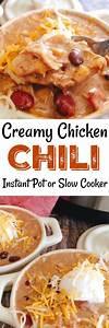 A Super Easy Creamy Chicken Chili Recipe With Instructions