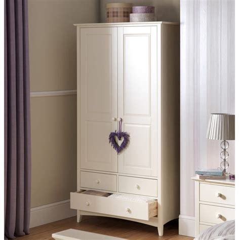 julian bowen cameo combination wardrobe  stone white