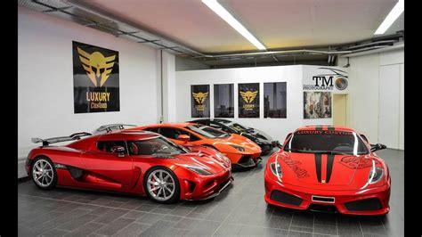 My Ultimate 10 Car Garage Tour (gta V