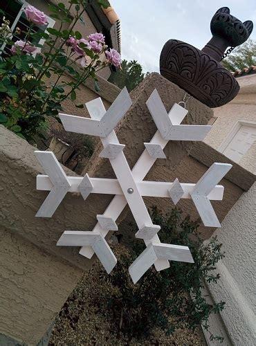 ana white snowflake  christmas tree  scrap wood