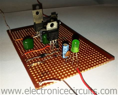 Regulated Power Supply With Overvoltage