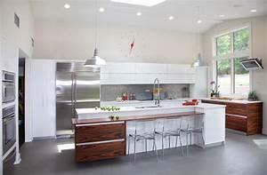 Kleine Bar Für Zuhause : modern kitchen design in nj modern kitchen new york by kuche cucina ~ Bigdaddyawards.com Haus und Dekorationen
