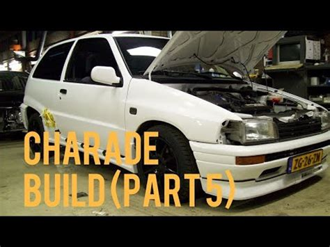 Daihatsu Charade Parts by Daihatsu Charade 1 6 Part 5 Build Up Of From 8 3