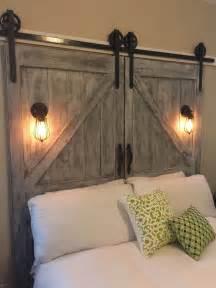 Cheaper and Better: DIY Barn Door Headboard and Faux Barn