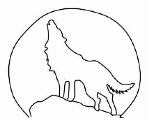 Wolf howling at a full moon - ClipArt Best - ClipArt Best